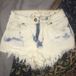 PacSun High Waisted Jean Shorts